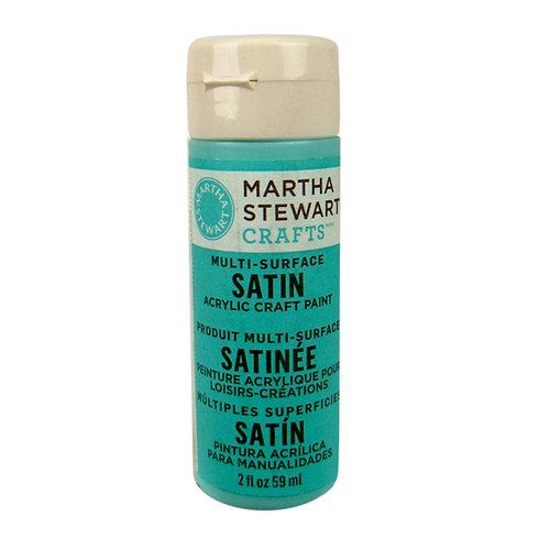 Martha Stewart Crafts - Paint - Satin Finish - Pool - 2 Ounces