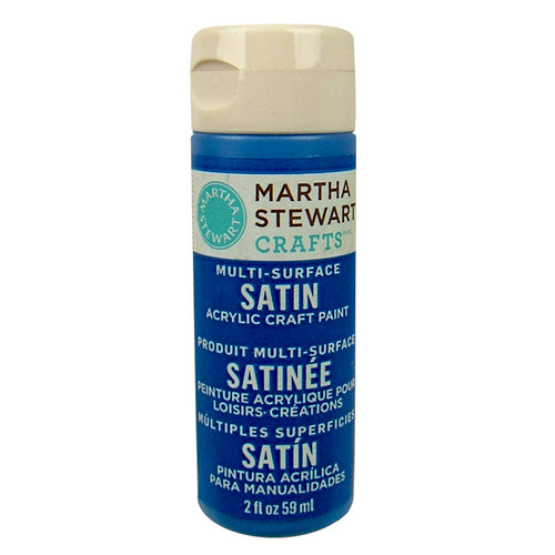 Martha Stewart Crafts - Paint - Satin Finish - Greek Tile - 2 Ounces