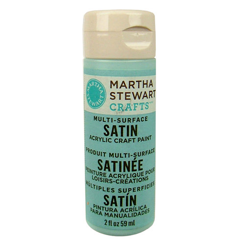 Martha Stewart Crafts - Paint - Satin Finish - Summer Haze - 2 Ounces