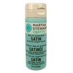 Martha Stewart Crafts - Paint - Satin Finish - Summer Haze - 2 Ounces