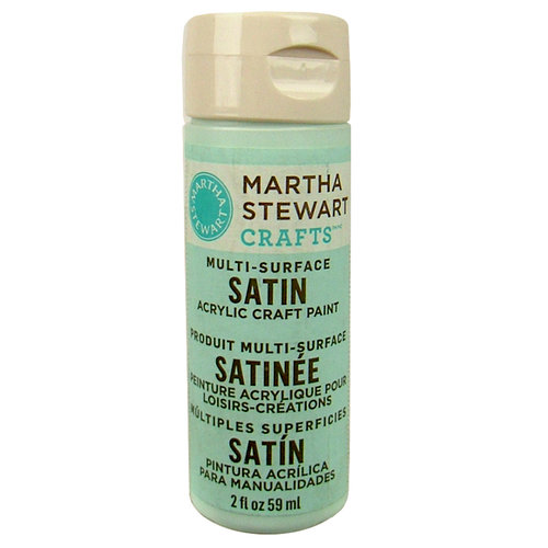 Martha Stewart Crafts - Paint - Satin Finish - Sea Lavender - 2 Ounces