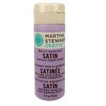 Martha Stewart Crafts - Paint - Satin Finish - Hailstorm - 2 Ounces