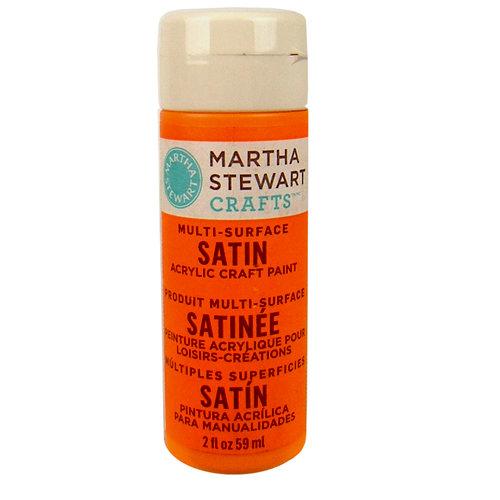Martha Stewart Crafts - Paint - Satin Finish - Marmalade - 2 Ounces