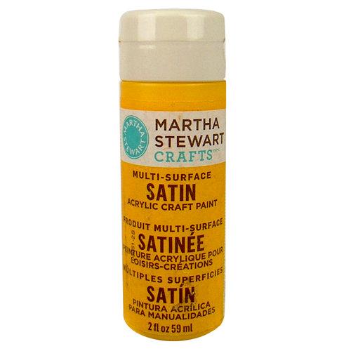 Martha Stewart Crafts - Paint - Satin Finish - Pollen - 2 Ounces