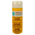 Martha Stewart Crafts - Paint - Satin Finish - Pollen - 2 Ounces