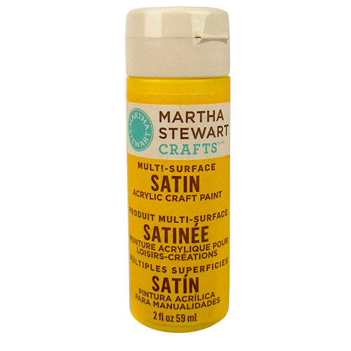 Martha Stewart Crafts - Paint - Satin Finish - Rubber Ducky - 2 Ounces