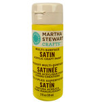 Martha Stewart Crafts - Paint - Satin Finish - Chamomile - 2 Ounces