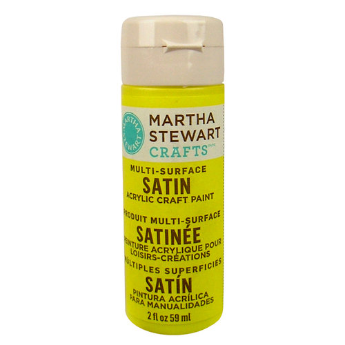 Martha Stewart Crafts - Paint - Satin Finish - Meadowlark - 2 Ounces
