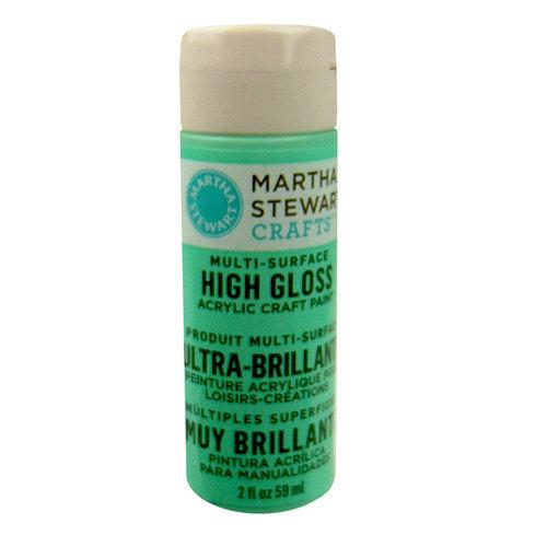 Martha Stewart Crafts - Paint - High Gloss Finish - Beach Glass - 2 Ounces