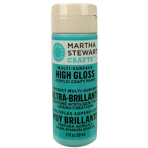 Martha Stewart Crafts - Paint - High Gloss Finish - Surf - 2 Ounces