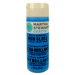 Martha Stewart Crafts - Paint - High Gloss Finish - Blue Calico - 2 Ounces