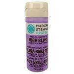 Martha Stewart Crafts - Paint - High Gloss Finish - Hydrangea Purple - 2 Ounces