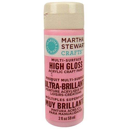 Martha Stewart Crafts - Paint - High Gloss Finish - Poodle Skirt - 2 Ounces