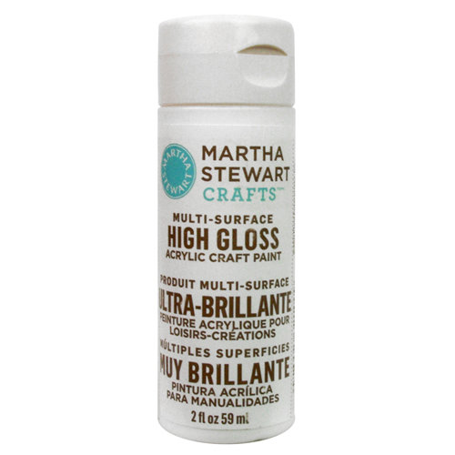 Martha Stewart Crafts - Paint - High Gloss Finish - Wedding Cake - 2 Ounces