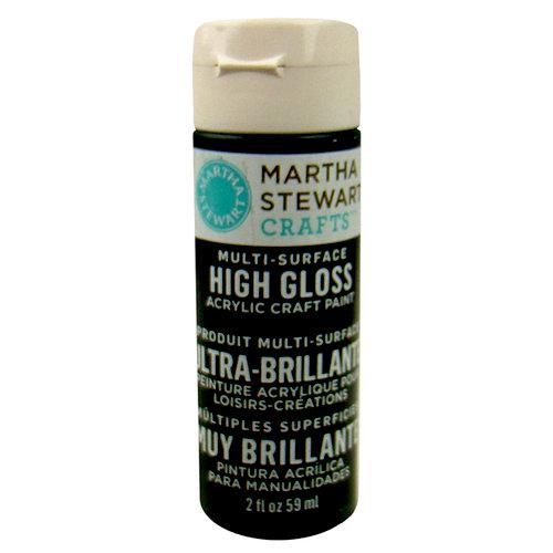 Martha Stewart Crafts - Paint - High Gloss Finish - Beetle Black - 2 Ounces