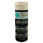 Martha Stewart Crafts - Paint - High Gloss Finish - Beetle Black - 2 Ounces