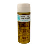 Martha Stewart Crafts - Paint - Metallic Finish - Gold - 2 Ounces