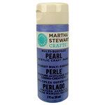 Martha Stewart Crafts - Paint - Pearl Finish - Twilight Blue - 2 Ounces