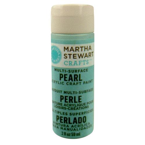 Martha Stewart Crafts - Paint - Pearl Finish - Jet Stream - 2 Ounces
