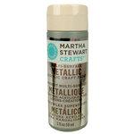 Martha Stewart Crafts - Paint - Metallic Finish - Sterling - 2 Ounces