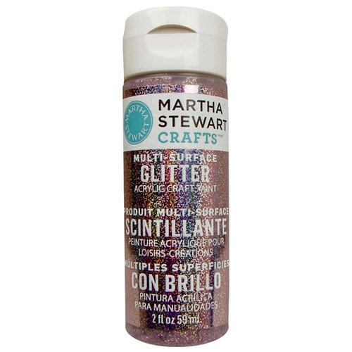 Martha Stewart Crafts - Paint - Glitter Finish - Kunzite - 2 Ounces