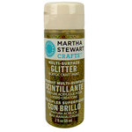 Martha Stewart Crafts - Paint - Glitter Finish - Florentine Gold - 2 Ounces