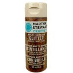 Martha Stewart Crafts - Paint - Glitter Finish - Copper - 2 Ounces