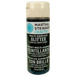 Martha Stewart Crafts - Paint - Glitter Finish - Obsidian - 2 Ounces
