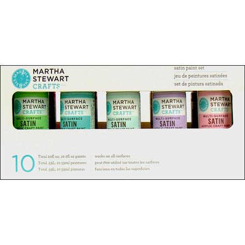 Martha Stewart Crafts - Paint Set - Satin