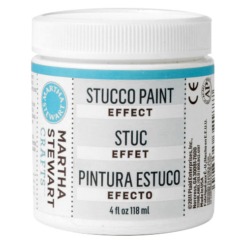 Martha Stewart Crafts - Texture Effect - Stucco - 4 Ounces