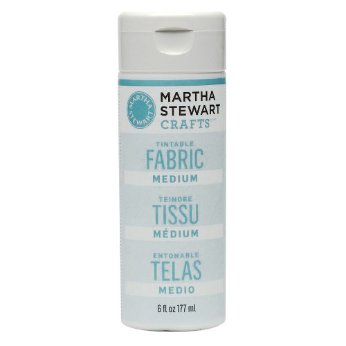 Martha Stewart Crafts - Fabric Medium - Tintable - 6 Ounces