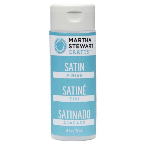 Martha Stewart Crafts - Paint Finish - Satin - 6 Ounces