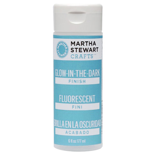 Martha Stewart Crafts - Paint Finish - Glow In Dark - 6 Ounces