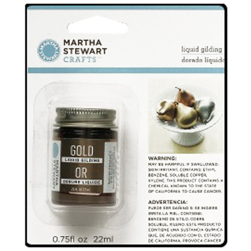 Martha Stewart Crafts - Paint - Liquid Gilding - Gold