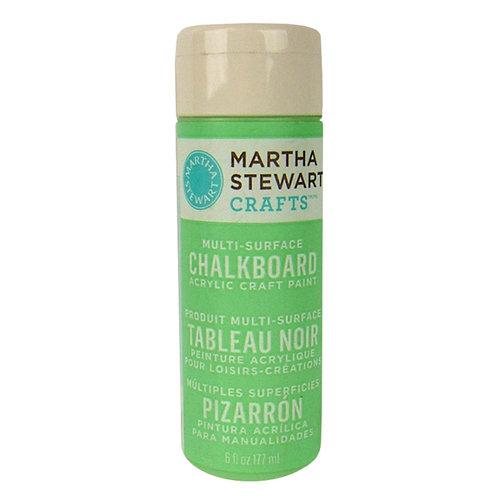 Martha Stewart Crafts - Paint - Chalkboard Finish - Green - 6 Ounces