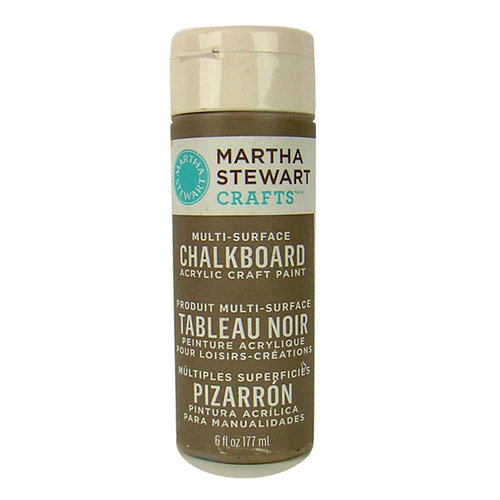 Martha Stewart Crafts - Paint - Chalkboard Finish - Gray - 6 Ounces