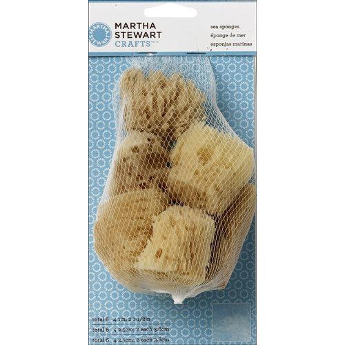 Martha Stewart Crafts - Tools - Sea Sponge - 6 Piece Set