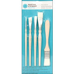 Martha Stewart Crafts - Tools - Basic Brush - 5 Piece Set