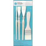 Martha Stewart Crafts - Tools - Large Brush - 4 Piece Set