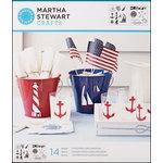 Martha Stewart Crafts - Stencil - Medium - Nautical Study