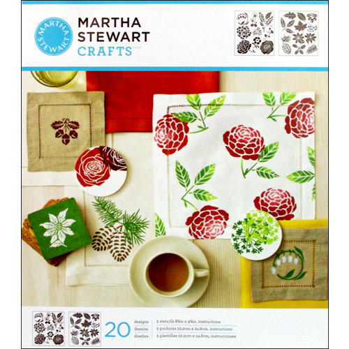 Martha Stewart Crafts - Stencil - Medium - Four Seasons