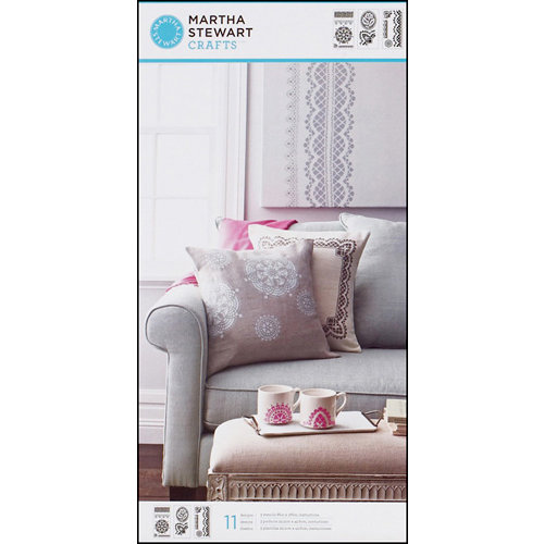 Martha Stewart Crafts - Stencil - Large - Cathedral Lace