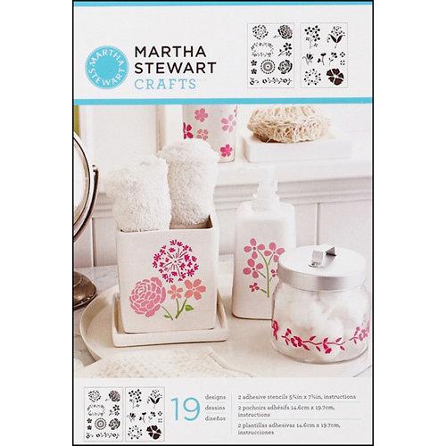 Martha Stewart Crafts - Adhesive Stencil - Blossoms