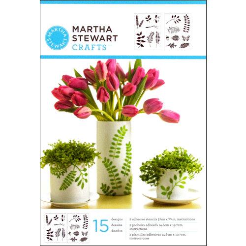 Martha Stewart Crafts - Adhesive Stencil - Leaves