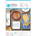 Martha Stewart Crafts - Adhesive Stencil - Fair Isle Dots