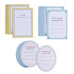 Martha Stewart Crafts - Name Plate - Labels