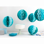 Martha Stewart Crafts - Honeycomb Paper Decorations - Blue Ombre