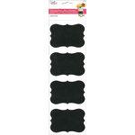 Multi Craft - Cardstock Stickers - Chalkboard Label - Three