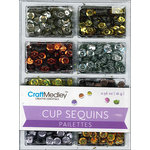 Multi Craft - Cup Sequins - Dazzle Metallics - 7mm