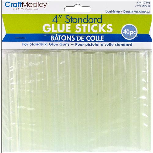 Multi Craft - Glue Sticks - Dual Temp - Standard - 4 Inches - 40 Pieces